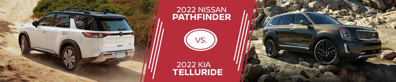 2022 Nissan Pathfinder vs. 2022 Kia Telluride