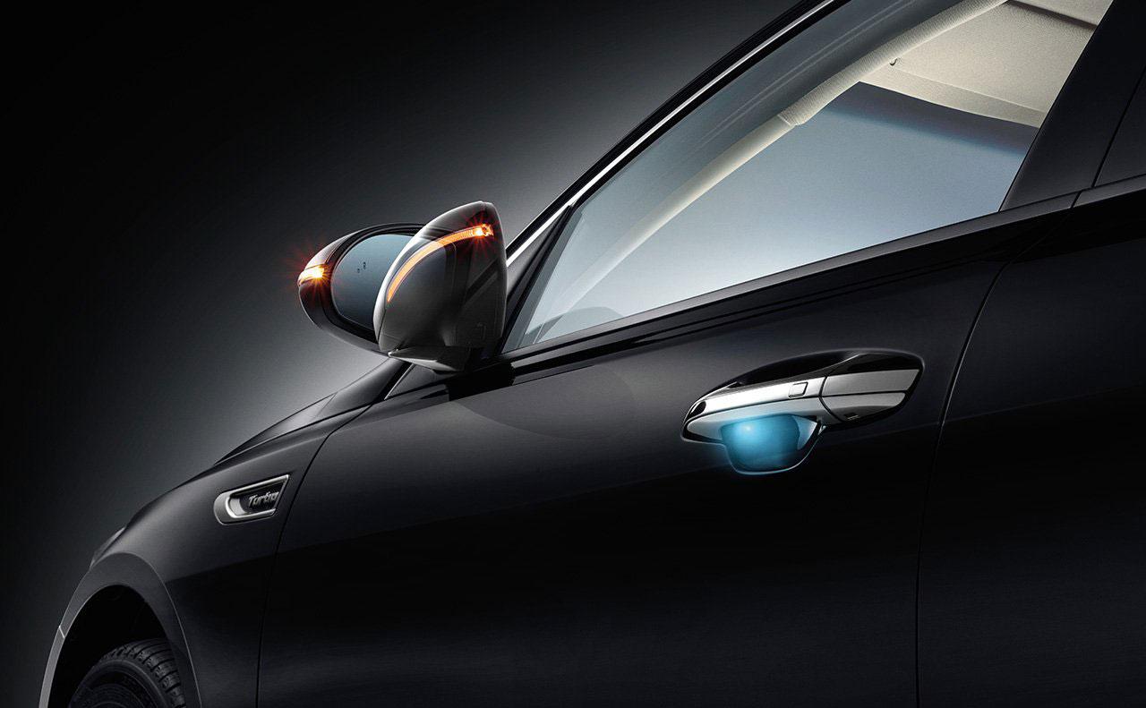 2016 kia optima exterior mirror lights door