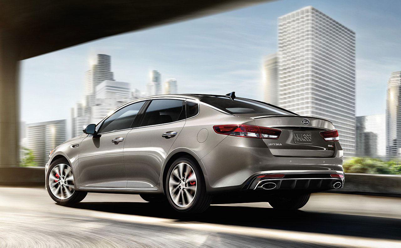 2016 kia optima exterior motion rear view tail