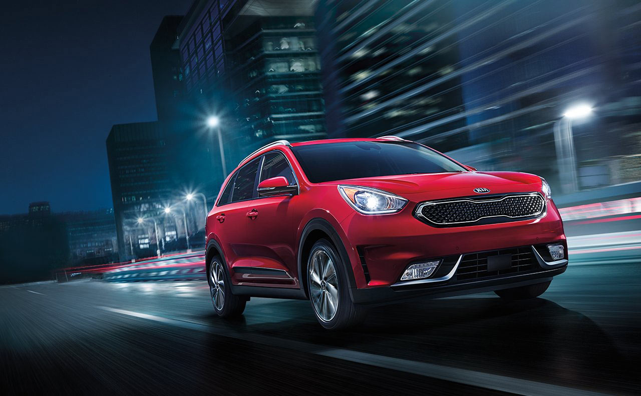 2017 niro for red headlights windshield