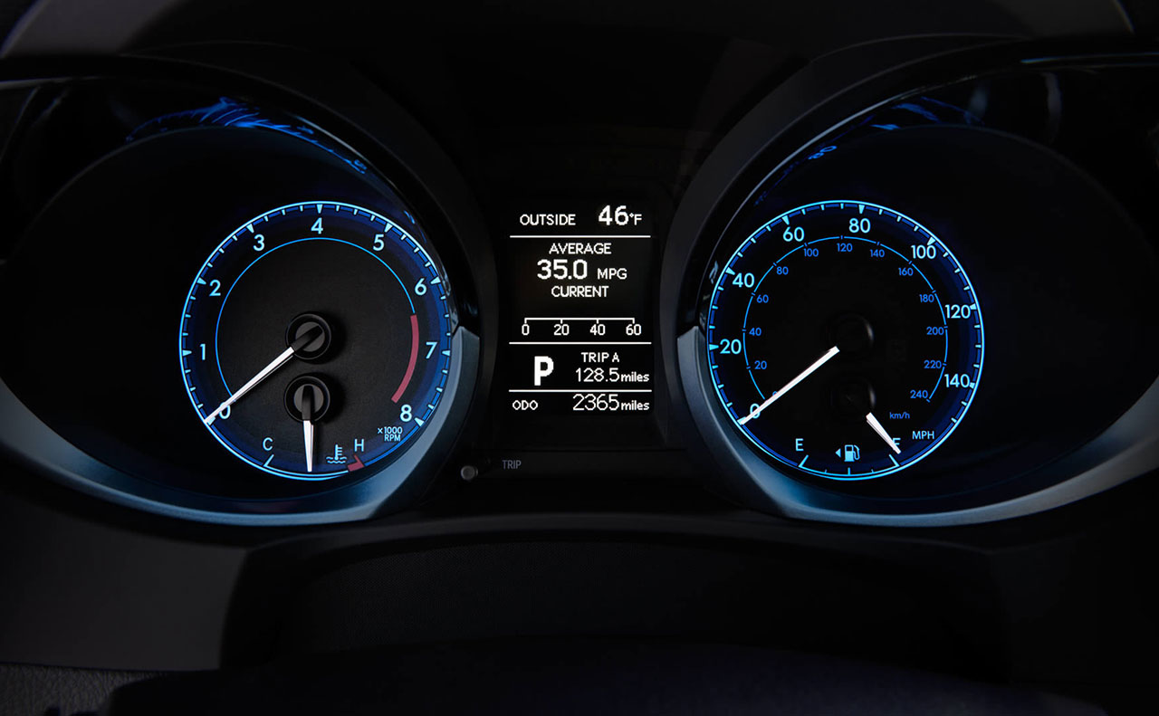 2016 toyota corolla driver door blue white