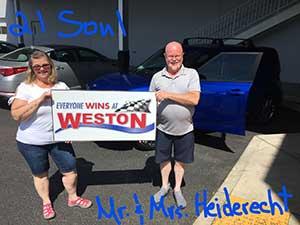 weston kia winner